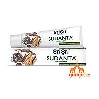 Зубная паста Суданта (Sudanta toothpaste SRI SRI TATTVA), 100 гр
