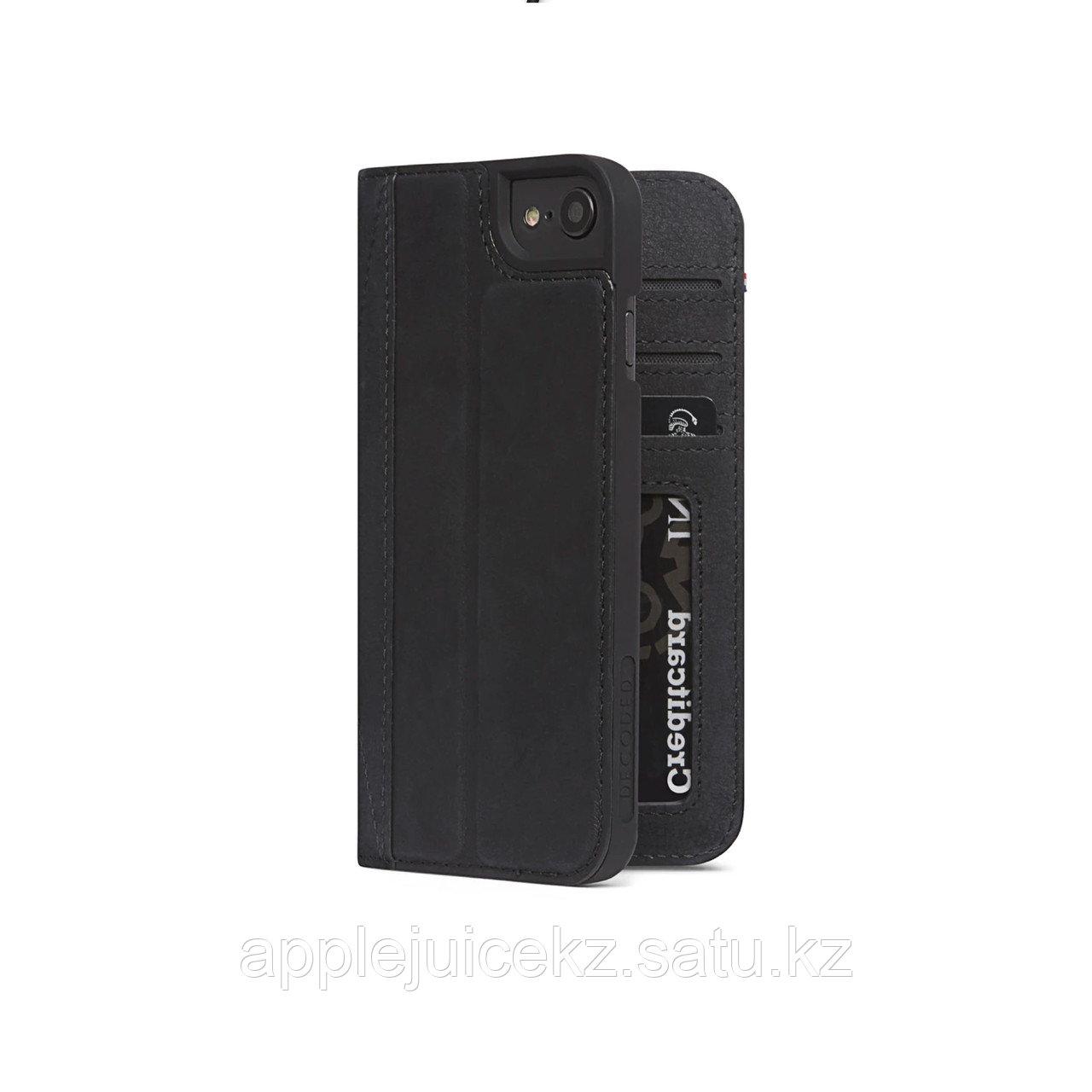 Чехол Decoded Wallet - Черный кошелек - iPhone SE/8