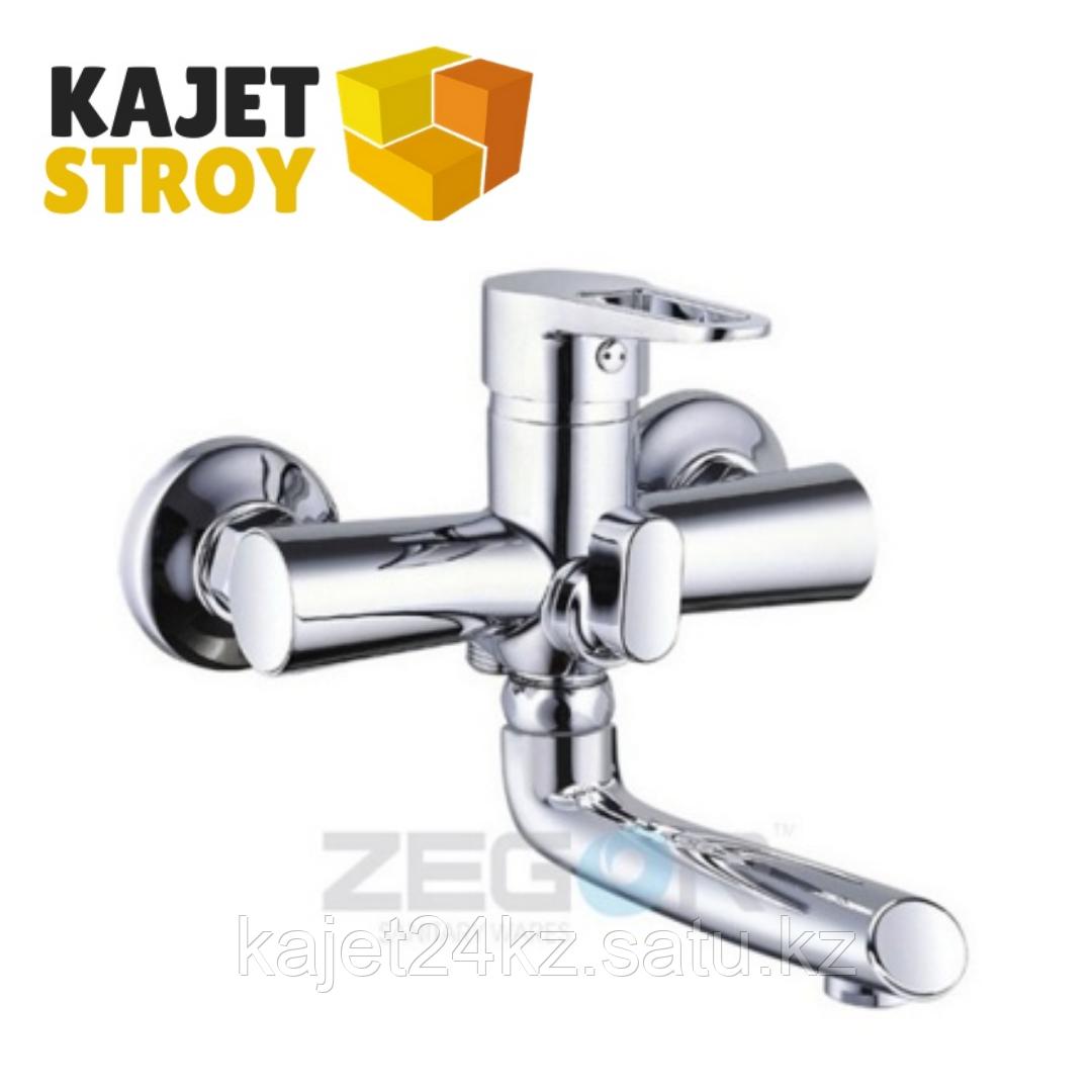 Смеситель ZEGOR PUD3-A045 одноручный для ванны с поворотным изливом (10)