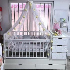 Детские кроватки с ЯЩИКАМИ (трансформеры)