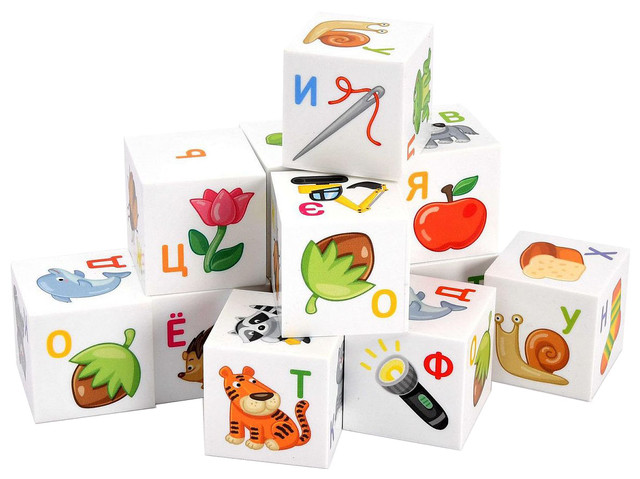 Обучающие кубики
