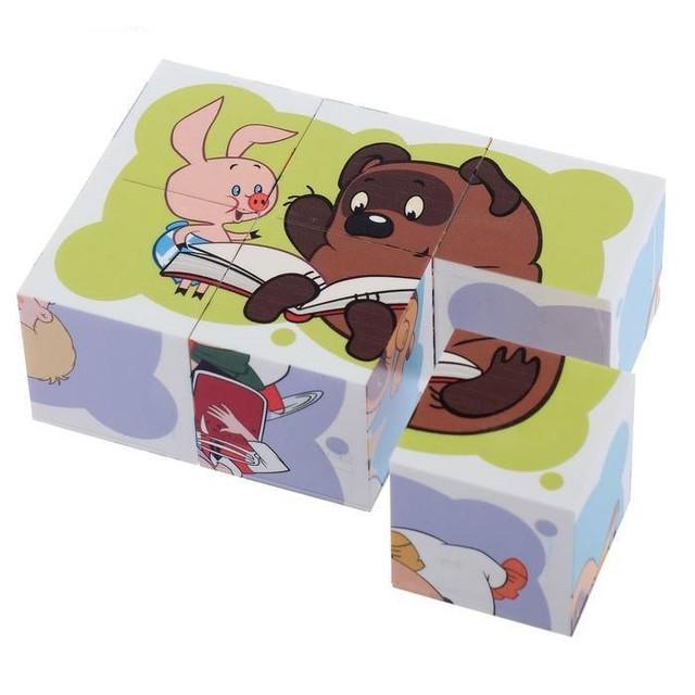 Кубики с картинками 6 шт.