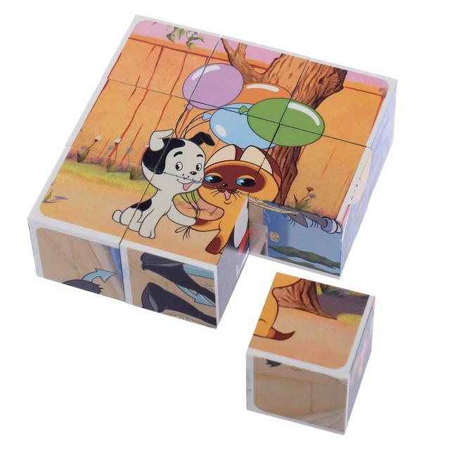 Кубики с картинками 9 шт.