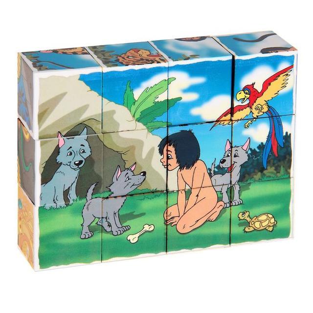 Кубики с картинками 12 шт.