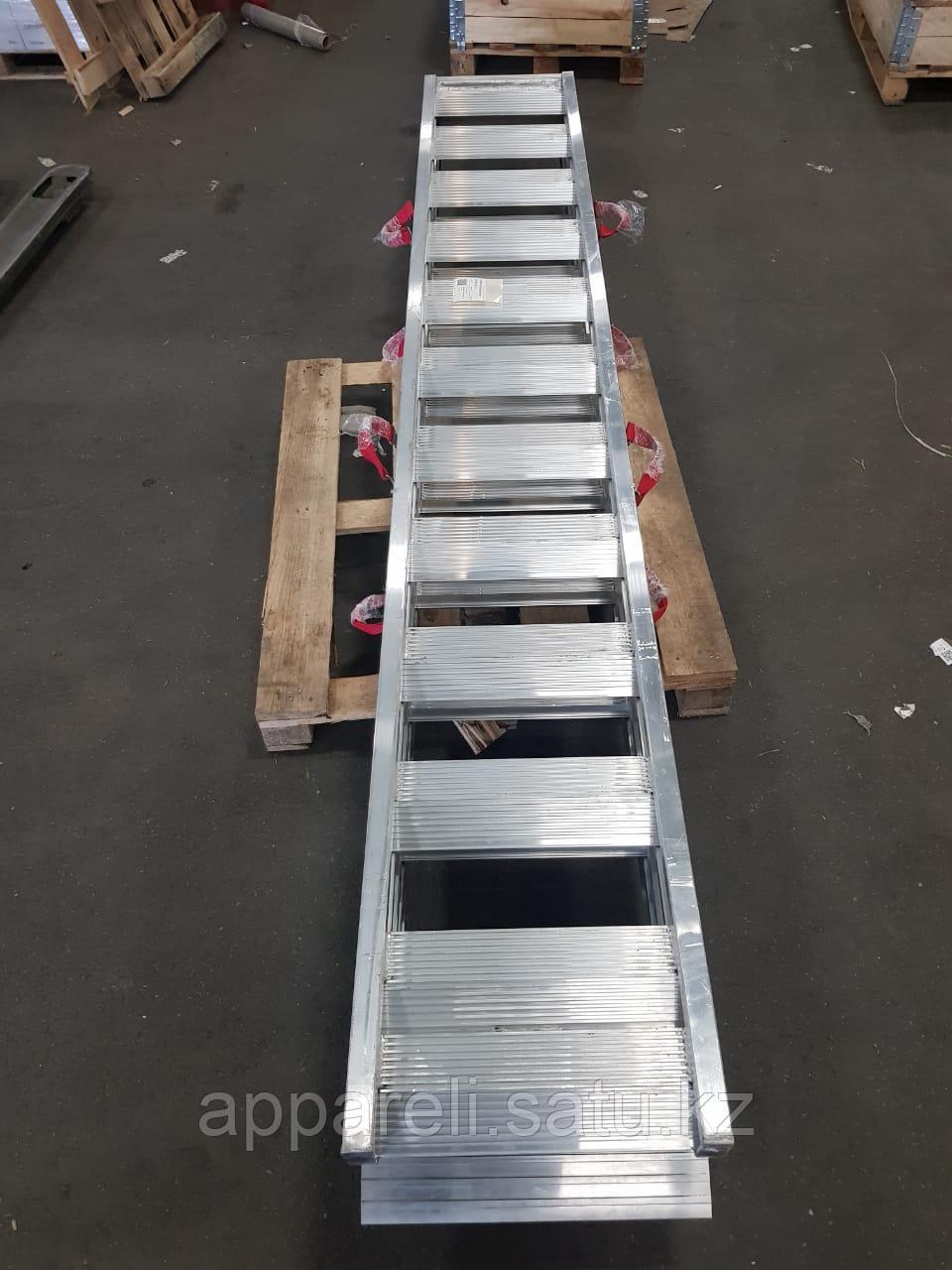 Алюминиевые сходни от производителя (трап, аппарель) 3 метра