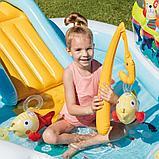 """Детский игровой центр с горкой """"рыбалка"""" 218х188х99см intex 57162, фото 5"""