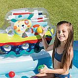 """Детский игровой центр с горкой """"рыбалка"""" 218х188х99см intex 57162, фото 6"""