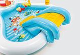 """Детский игровой центр с горкой """"рыбалка"""" 218х188х99см intex 57162, фото 7"""