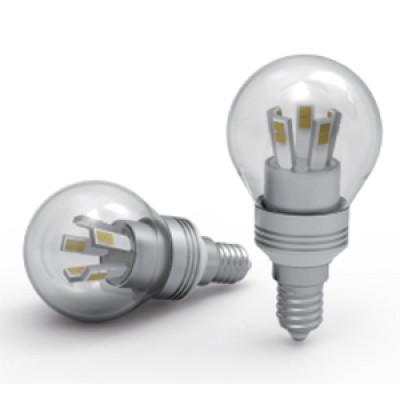 Лампа LED-G45BR-5-3K-E14-CL