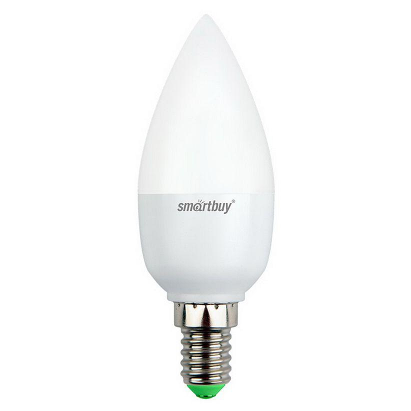 Светодиодная (LED) лампа Smartbuy-C37-05W/3000/ E14