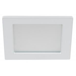 Светодиодный светильник матовый 6W квадратный
