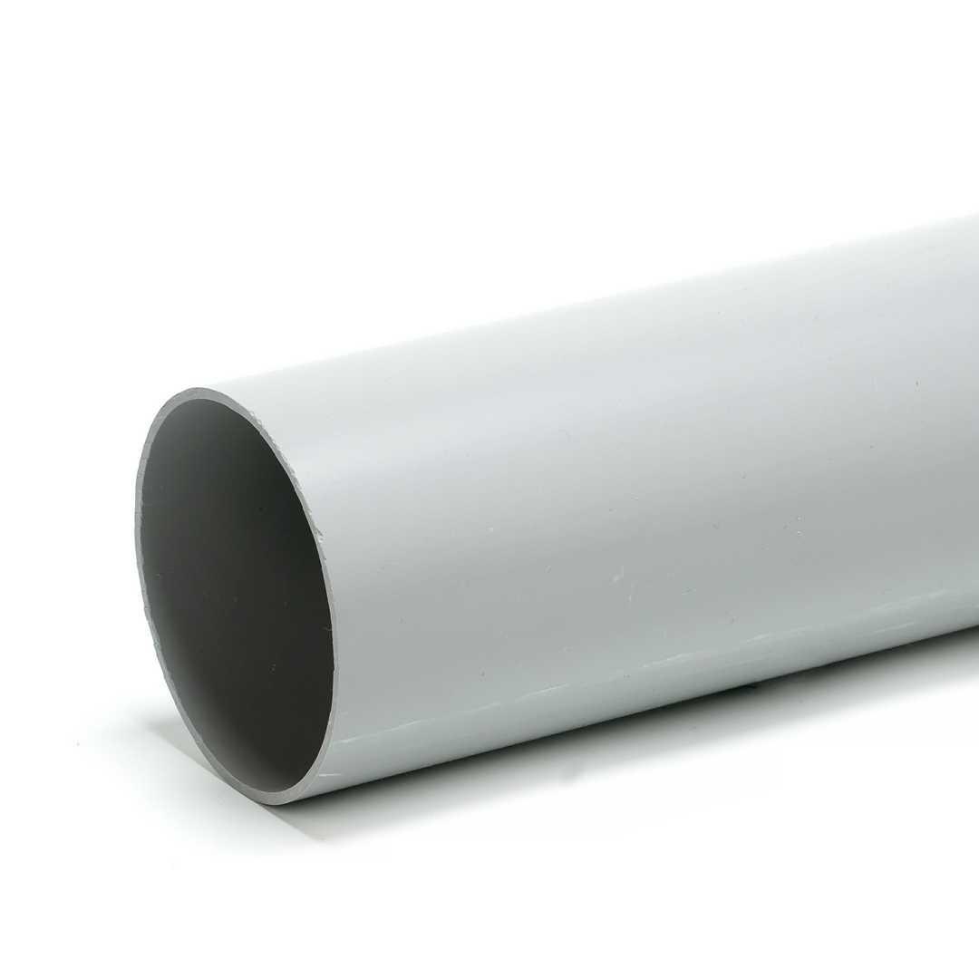 Труба гладкая ПВХ жесткая 40мм (57)