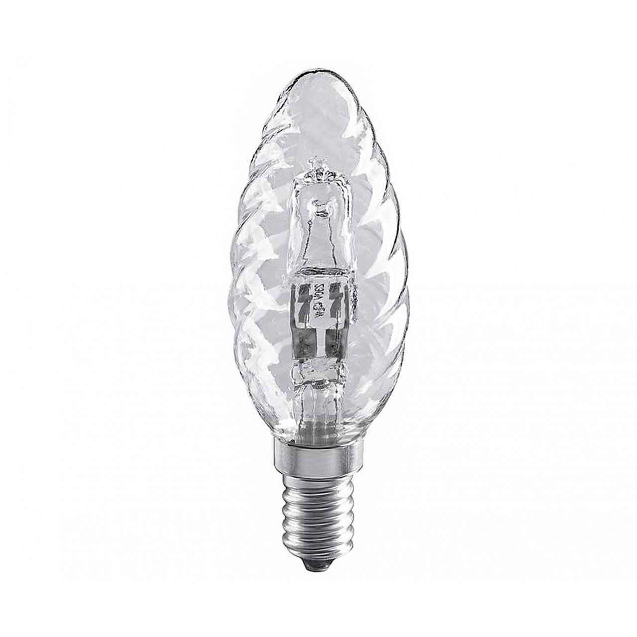 Лампочка Свеча витая 28W E14