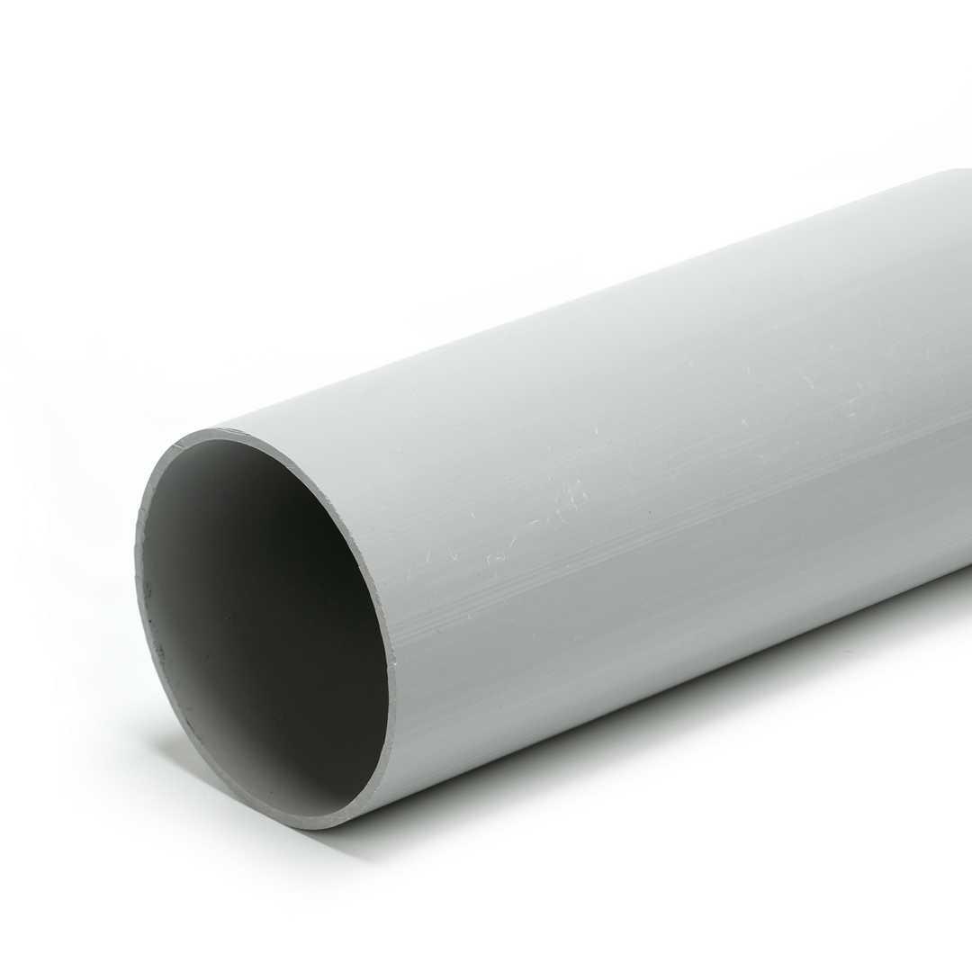 Труба гладкая ПВХ жесткая 63мм (21)