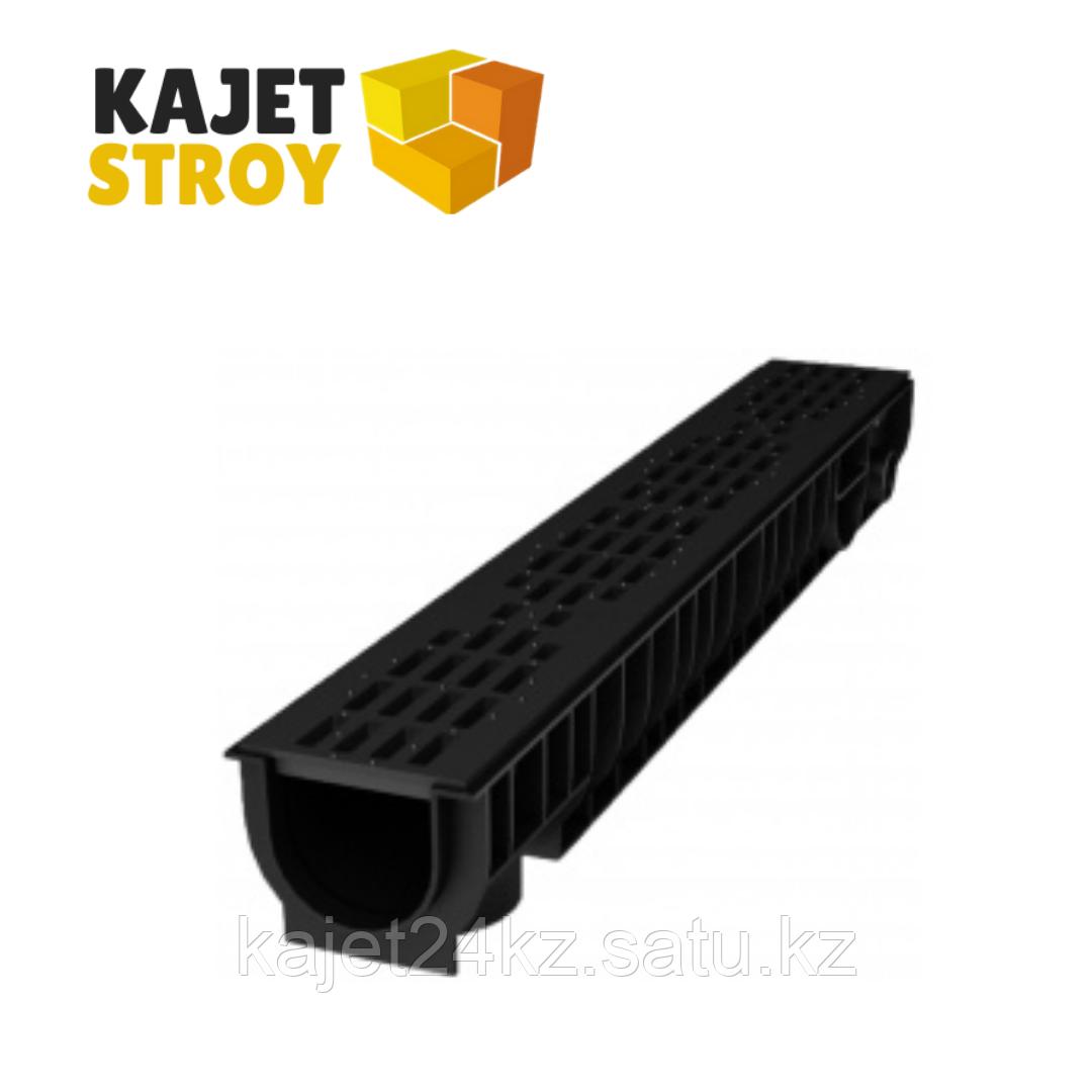 Лоток 200.210 h210 пластиковый HEAVY 200.01 E-600 в сборе(черный)