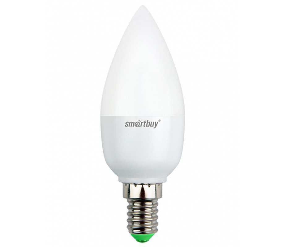 Светодиодная (LED) лампа Smartbuy-C37-07W/3000/ E14