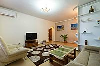 4-х комнатная квартира в Самале на пр. Аль-Фараби - ул. Мендикулова, посуточно