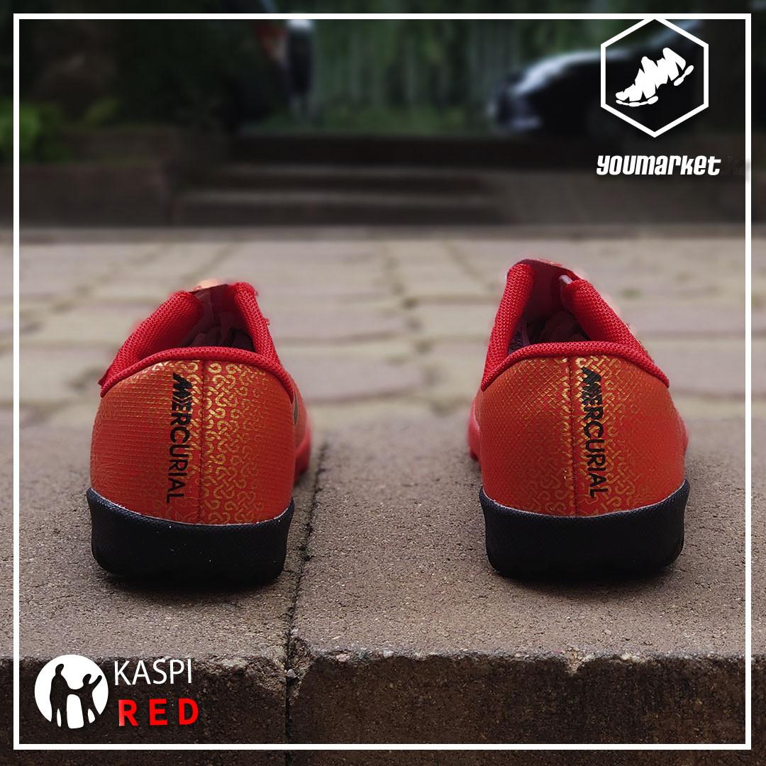 Детские футбольные сороконожки Nike Mercurial (33, 34 в наличии ) - фото 2