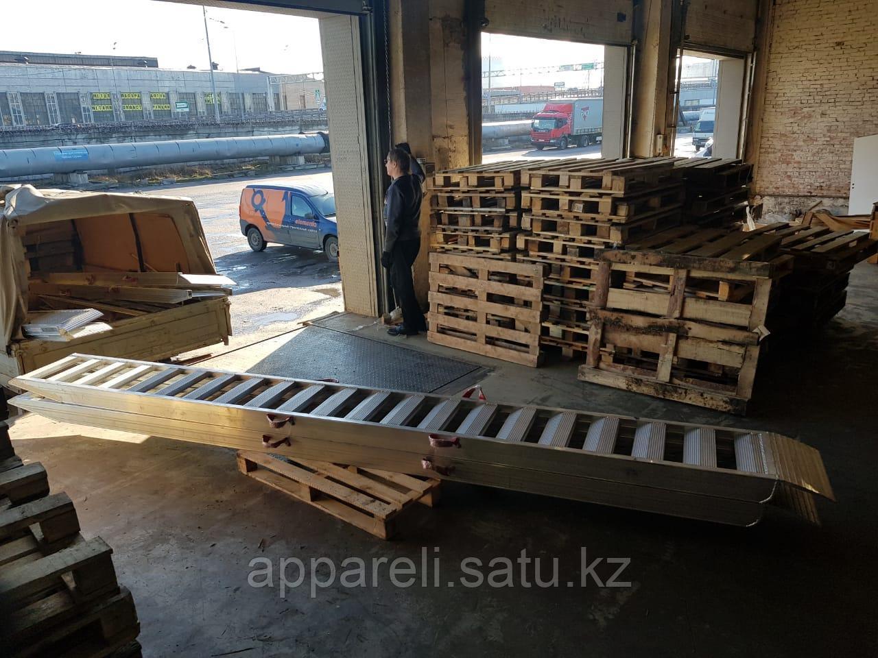 Алюминиевые сходни от производителя (трап, аппарель) 4 метра, 6 тонн