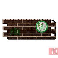 Фасадная панель VOX Vilo Brick Dark Brown  (темно-коричневый кирпич), фото 2