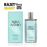 """Туалетная вода для женщин United Hits """"Aqua Azzuro"""" 85 мл"""