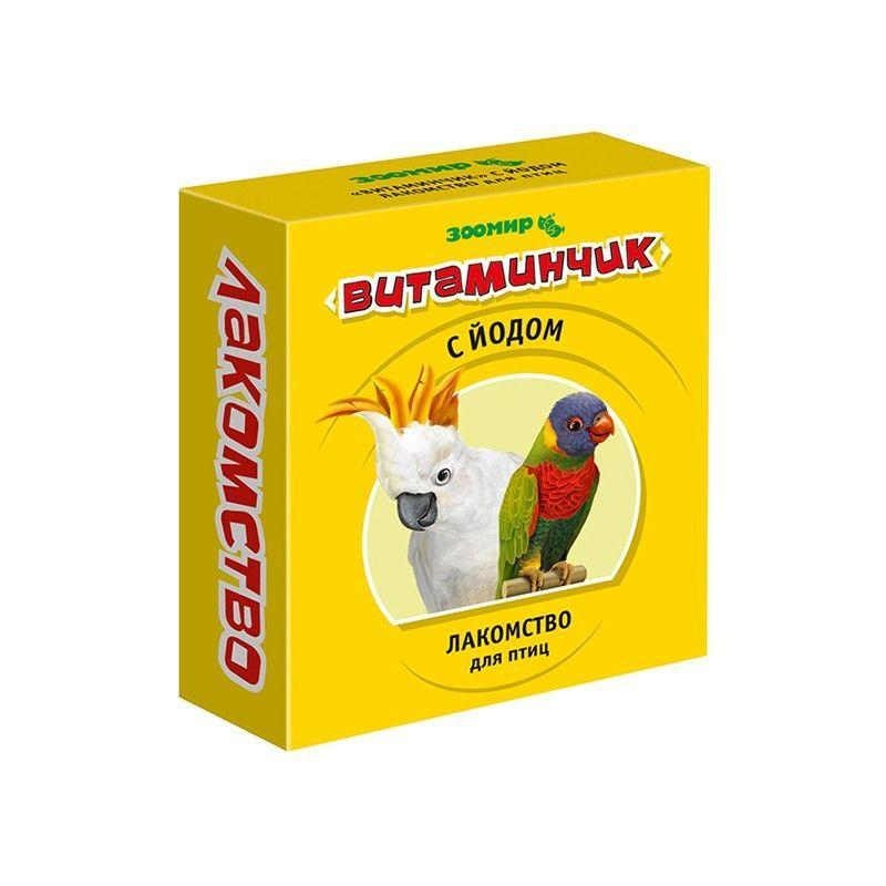 Лакомство с йодом для птиц Витаминчик