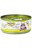Влажный корм для кошек Мнямс с курицей с сыром в желе