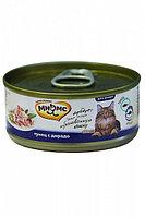 Влажный корм для кошек Мнямс с тунцом и дорадо в желе