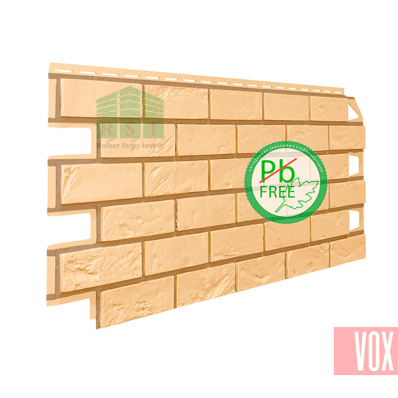 Фасадная панель VOX Vilo Brick Sand  (песочный кирпич)