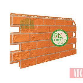 Фасадная панель VOX Vilo Brick Marron  (каштановый кирпич)