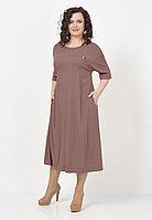 Платье женское «Шерри», вискоза, 48-62, свободного кроя