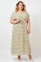 Платье женское «Людмила», вискоза, 46-58, прямой силуэт