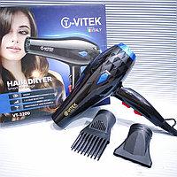 Фен для укладки волос VITEK VT-3200 с диффузором, 5000 Вт., фото 1