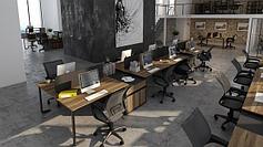 Рабочие станции для open-space