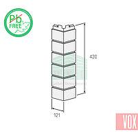 Наружный угол VOX Vilo Brick Ivory (слоновая кость кирпич), фото 2