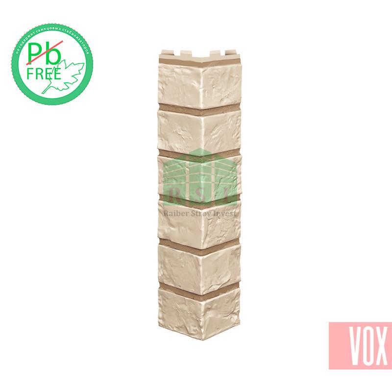 Наружный угол VOX Vilo Brick Ivory (слоновая кость кирпич)