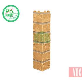 Наружный угол VOX Vilo Brick Ginger (имбирный кирпич)