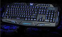 Игровая клавиатура с подсветкой оригинал Atlanfa Tricolor M200