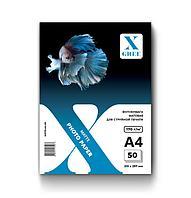Фотобумага матовая для струйной печати X-GREE MS170-A4-50 (A4*210х297мм/50л/170г)