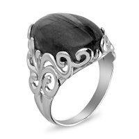 Серебряное кольцо с кораллом    Елана 211558з размеры - 20