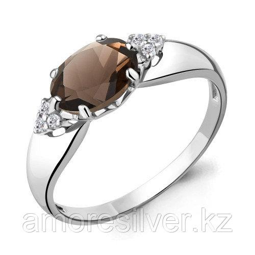 Кольцо из серебра с    Aquamarine 6914701А размеры - 17