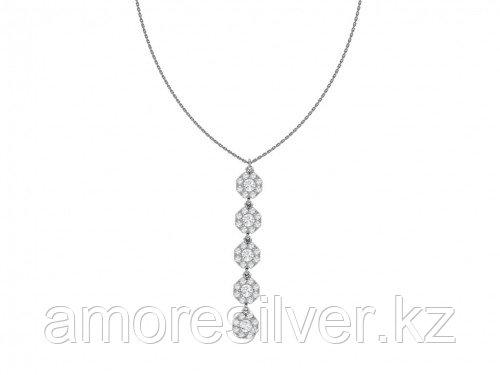 Серебряное колье с фианитом  Pokrovsky 3121130-00775 размеры - 55  3121130-00775