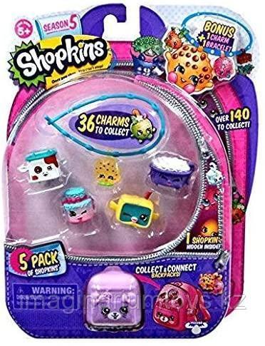 Shopkins Шопкинс набор фигурок 5 сезон 5 шт