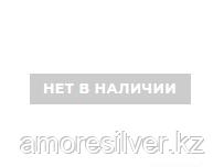 Крест из серебра с наносапфиром синт.   Aquamarine 24293Б
