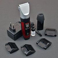 Машинка-триммер для стрижки беспроводная MRM Power MRM-1041 + второй аккумулятор в подарок!