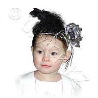 ЕВРОПА УНО ТРЕЙД Наряд Ободок на голову Цветок с перьями