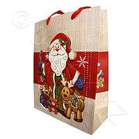 Kazakhstan Пакет Новогодний для подарков 32х26х10см 3D