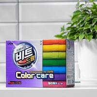 Стиральный порошок CJ Lion Beat Drum Color Care 'Защита цвета', автомат, 1,5 кг