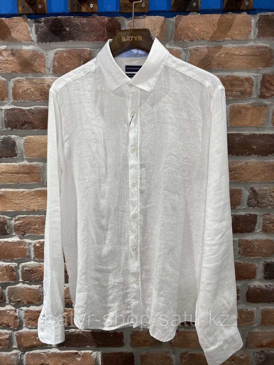 Рубашка льняная Enrico Rosetti (0120)