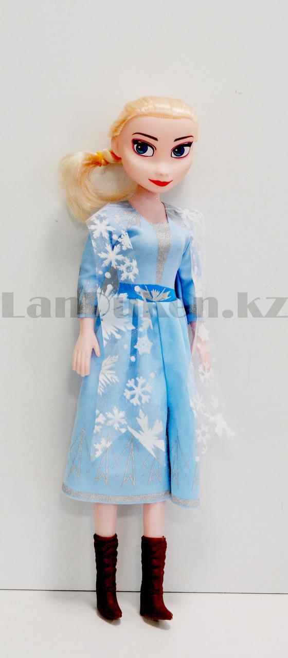 Детская музыкальная кукла Эльза Холодное сердце (Frozen) 42 см - фото 3